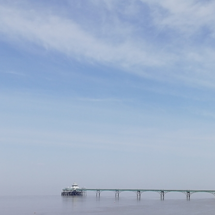 Clevedon Pier in the Summer